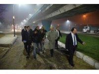 Başkan Ergün'den 'Çalışmaları hızlandırın' talimatı