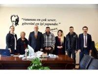 Türk Sanat Müziği korosundan teşekkür ziyareti