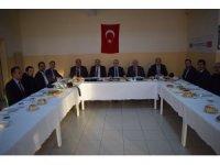 Kaymakam Güven'den gazetecilere teşekkür belgesi