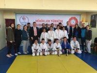 Karaman'da okullar arası judo il birinciliğinde şampiyonlar belli oldu