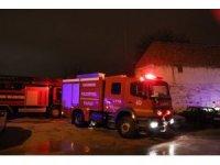Karaman'da baca yangını korkuttu