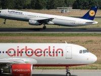 Air Berlin'in malzemeleri satışa çıkarıldı