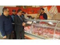 Söke Belediyesi et ve et ürünü satan işletmeleri denetledi