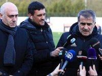 Beşiktaş Teknik Direktörü Güneş: Hak edenin kazandığı bir şampiyonluk olsun