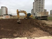 Altınşehir mahallesinin kuzey kısmına taziye evi yapılıyor