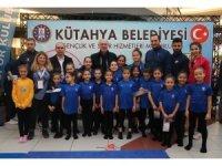 Kütahya Belediyesi'nden jimnastik etkinliği