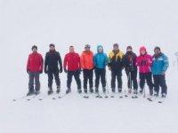 Eğirdir Belediyespor'dan kayak eğitimi