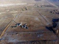 Güneş enerji santralinde çalışmalar tüm hızıyla devam ediyor