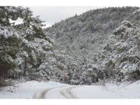 Eskişehir'den kar manzaraları