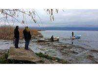 İznik gölü 5 metre çekildi