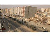 Sınıra yapılan askeri sevkiyat Kızıltepe'ye ulaştı