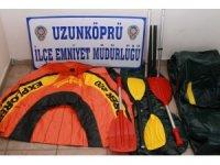 Edirne'de emniyetten göçmen kaçakçılığı operasyonu