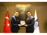 Türkiye Yelken Federasyonu destek ödülü Mehmet Kocadon'un