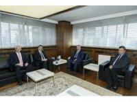 Milli Eğitim Bakan Yardımcısı Orhan Erdem Başkan Çelik'i ziyaret etti