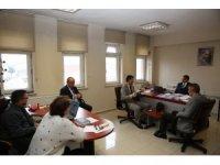 Bartın Belediyesi'nde istişare toplantısı yapıldı