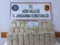 Ağrı'da 212 kilogram eroin ele geçirildi