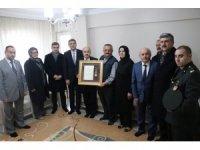 Şehit Ercan Çelik'in ailesine madalya verildi