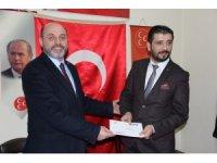 MHP'yi ziyaret eden AK Parti Kütahya İl Başkanı Çetinbaş: