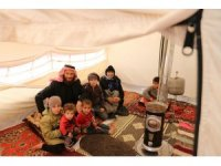 Esad'ın bombaları 11 kişilik aileyi 3 kez yerlerinden etti