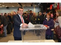 Milas'ta Bakkallar ve Tekel Bayileri Esnaf Odası Başkanı güven tazeledi