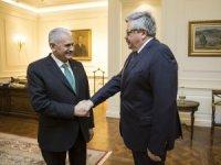 Başbakan Yıldırım Rusya'nın Ankara Büyükelçisi Yerhov'u kabul etti