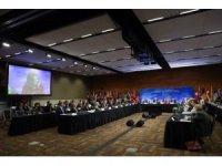Çavuşoğlu, 'Kore Yarımadasının Güvenlik ve İstikrarı Dışişleri Bakanları Toplantısı'na katıldı
