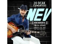 Nev'den mini konser ve imza günü