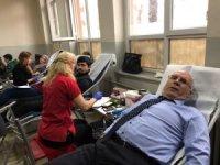 Yayla Ortaokuldan kan bağışı