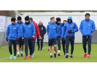 Trabzonspor, Süper Ligde oynayacağı  Atiker Konyaspor maçı hazırlıklarını başladı