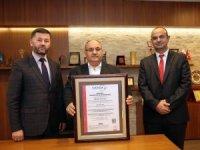 Ümraniye Belediyesi 'ISO 27001:2013 Bilgi Güvenliği Yönetim Sistemi Sertifikası'nı aldı