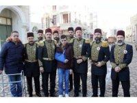 Filistin direnişinin sembol ismi Fevzi el-Cüneydi Payitaht dizisinin oyuncuları ile buluştu