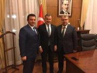 Başkan Bakıcı'dan Spor Bakanı Osman Aşkın Bak'a ziyaret
