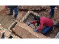 Tarsus'taki kazıda bulunan lahitler boş çıktı