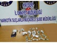 Kayseri'de uyuşturucu operasyonu