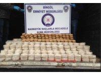 Bingöl'de 275 kilogram eroin ele geçirildi