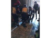 Uyuşturucu kullanan bir kişi hastaneye kaldırıldı