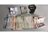 Torbacı bir günde 2 bin 90 lira para kazanmış
