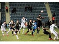 Ziraat Türkiye Kupası: Osmanlıspor: 0 - Beşiktaş: 0 (İlk yarı)
