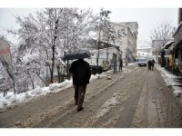 Tunceli'de kar yağışı etkili oldu, 242 köy yolu kapandı