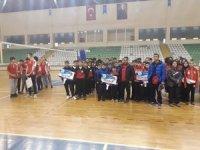 Erzurum voleybolda çeyrek finalde