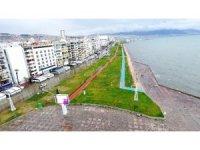 İzmir'de göle dönen Kordon havadan görüntülendi