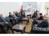 Gazeteciler Başkan Gürkan'a hayırlı olsun ziyaretinde bulundu