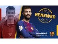 Barcelona, Gerard Pique'nin sözleşmesini uzattı