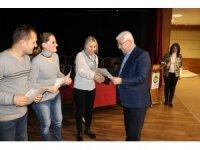 Girişimcilik kurslarını tamamlayan kursiyerler sertifikalarını aldı