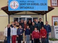 Dalyan İztuzu Turizm ve Tanıtım Derneğinden okula yardım eli