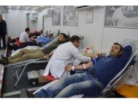 Niksar'da Türk Kızılay'ına 'Kan ve Kök Hücre' bağışı