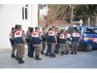 Mut'ta küçükbaş hayvan hırsızlığına 4 tutuklama