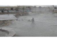 Taşucu-KKTC feribot ve gemi seferlerine fırtına engeli