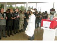 Bodrum'da hayatını kaybeden polis Araban'da defnedildi