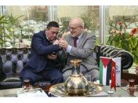 Filistinli down sendromlu Muhammed El Tavil Beykoz'da